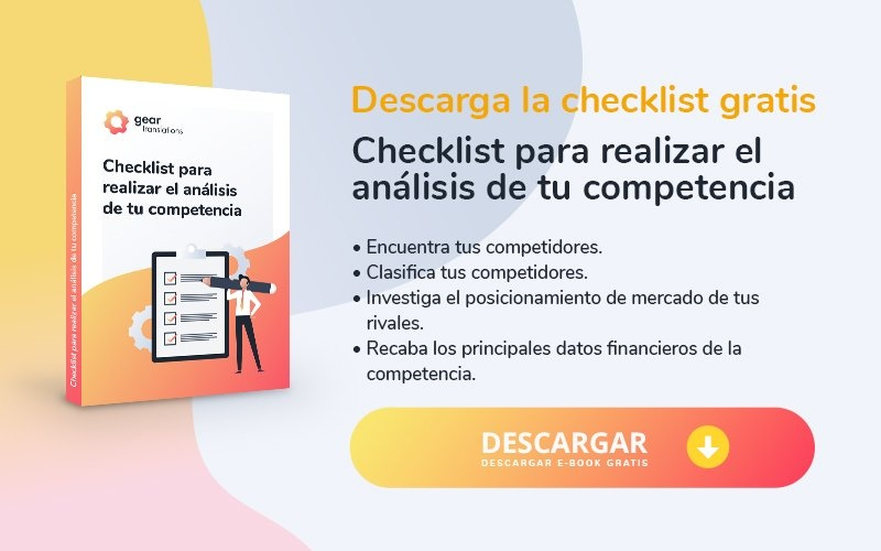 Checklist para realizar el análisis de tu competencia