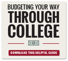 Budgeting your way through college guide