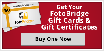 FotoBridge Gift Card or Gift Certificate