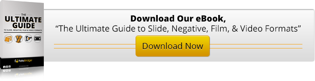 The Ultimate Guide to Slide, Negative, Film & Video Formats