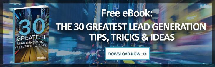 30 Lead Generation Tips