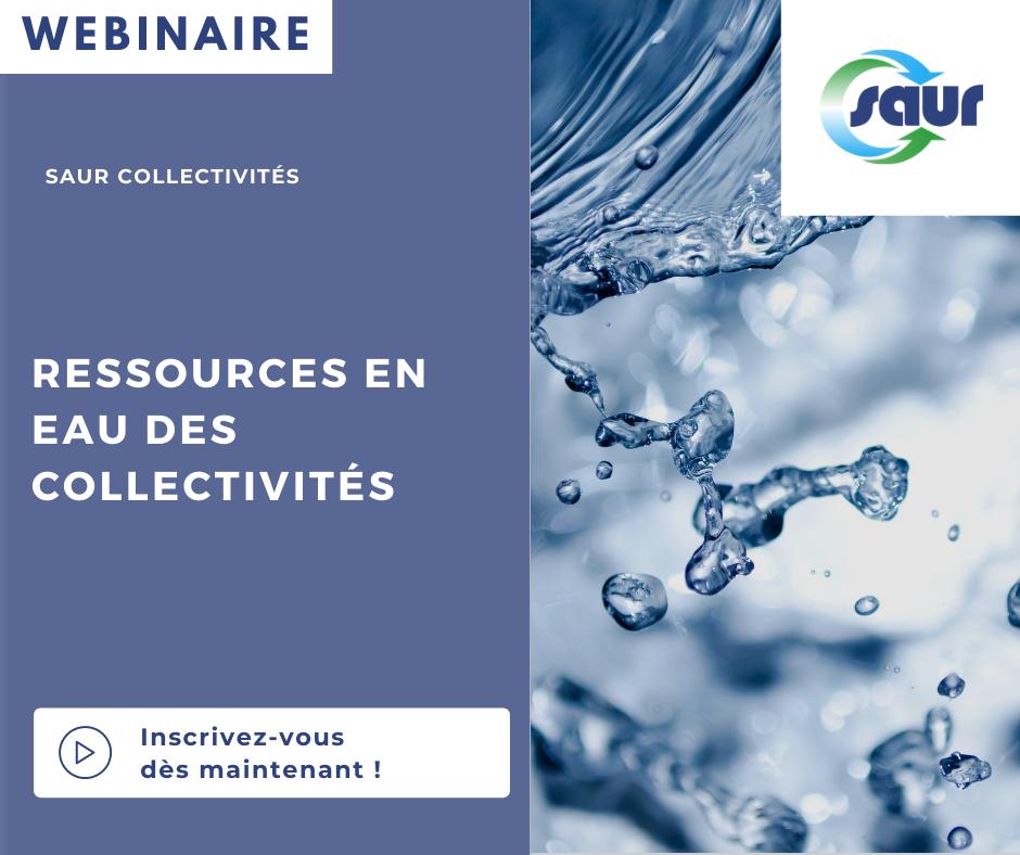 Webinar gestion des eaux collectivités
