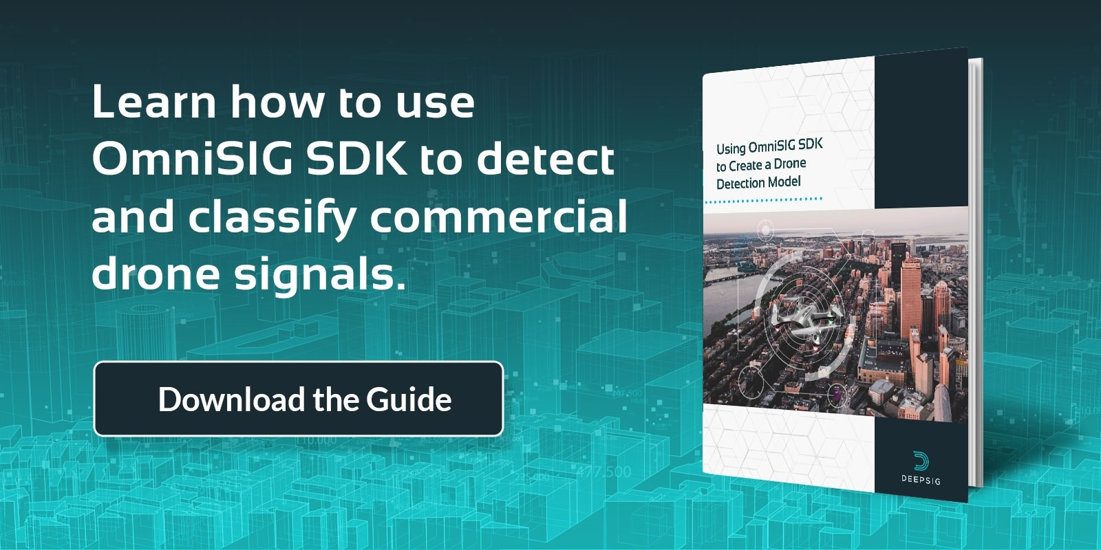 Use OmniSIG SDK to detect and classify commercial drone signals - use machine learning to detect commercial drone signals