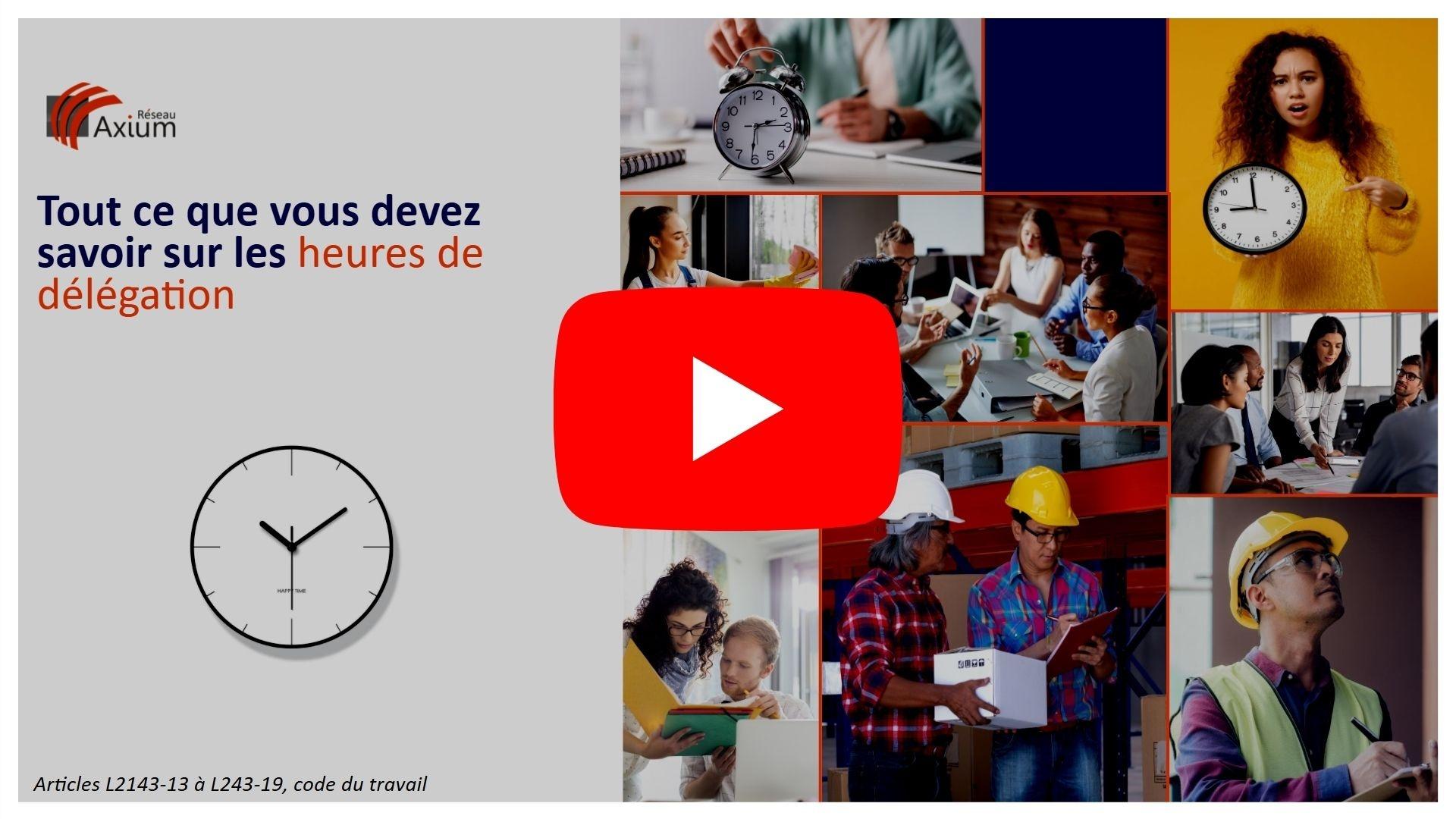 Replay webinar heures de délégation