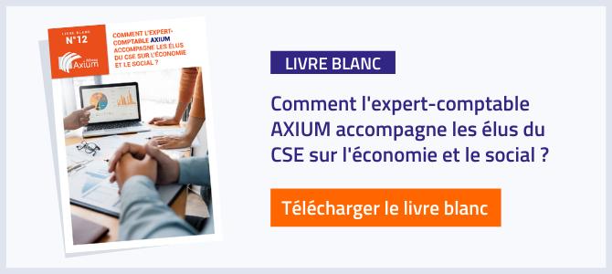 Livre blanc : Comment l'expert-comptable AXIUM accompagne les élus du CSE sur l'économie et le social ?