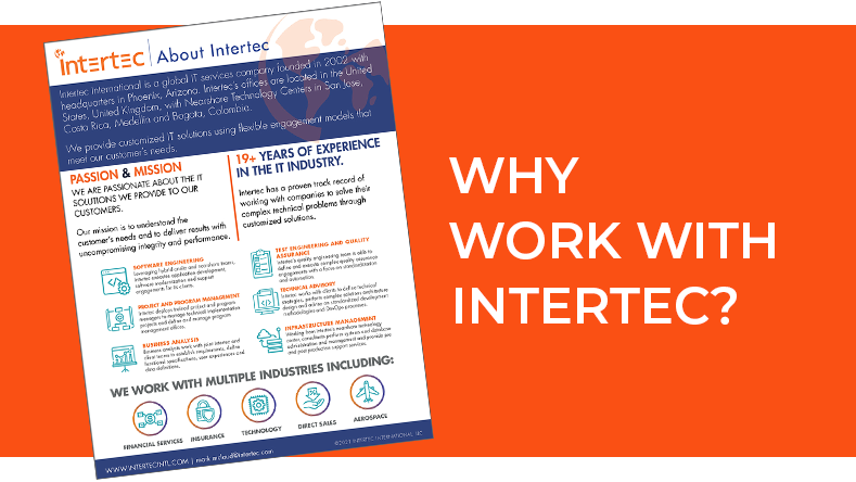 Why work with Intertec