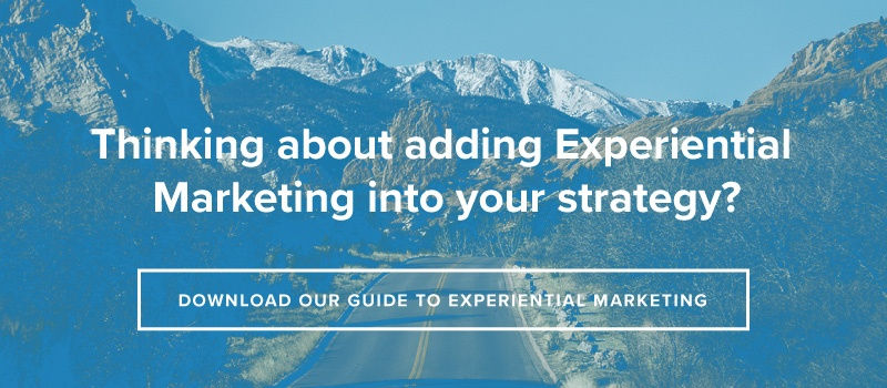 Thinking About Adding Experiential Marketing Into Your Strategy?