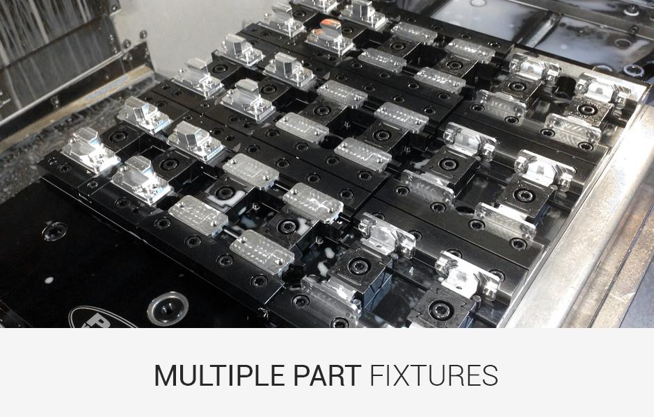 Multiple Part Workholding Fixtures