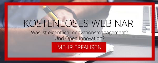 Webinar zu Innovationsmanagement