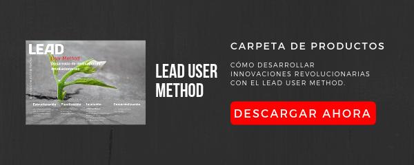 Carpeta de productos LEAD User Method