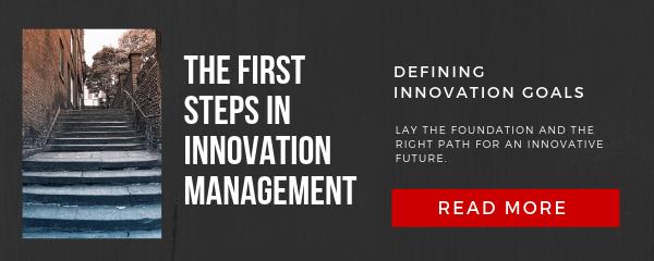 Defining innovation goals