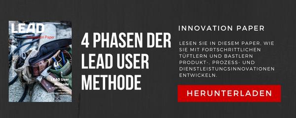 Die 4 Phasen der LEAD User Methode
