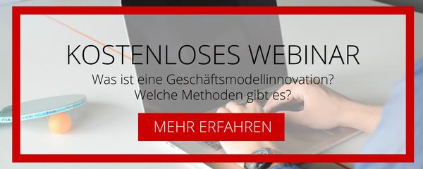 Webinar Geschäftsmodellinnovation