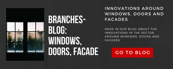 Innovations around windows, doors and facades