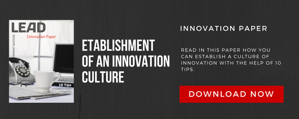 Establishment of an innovation culture