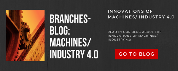 Innovations of machines / industry 4.0