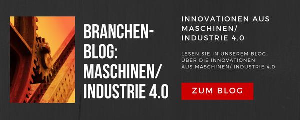 Innovationen aus Maschinen / Industrie 4.0