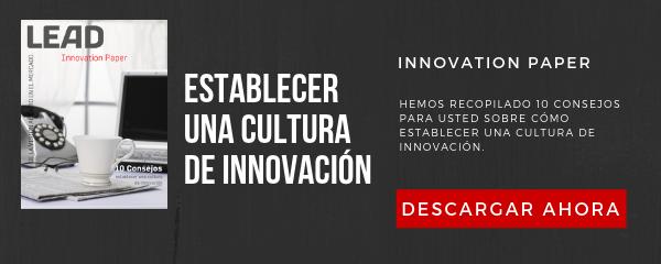 Establecer una cultura de Innovación