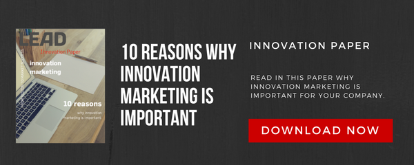 10 Reasons for Innovation Marketing