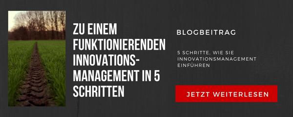 5 Schritte, wie Sie Innovationsmanagement einführen