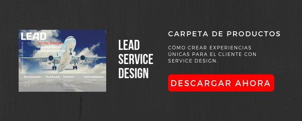 Carpeta de productos LEAD Service Design