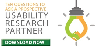 Usability Research Partner White Paper