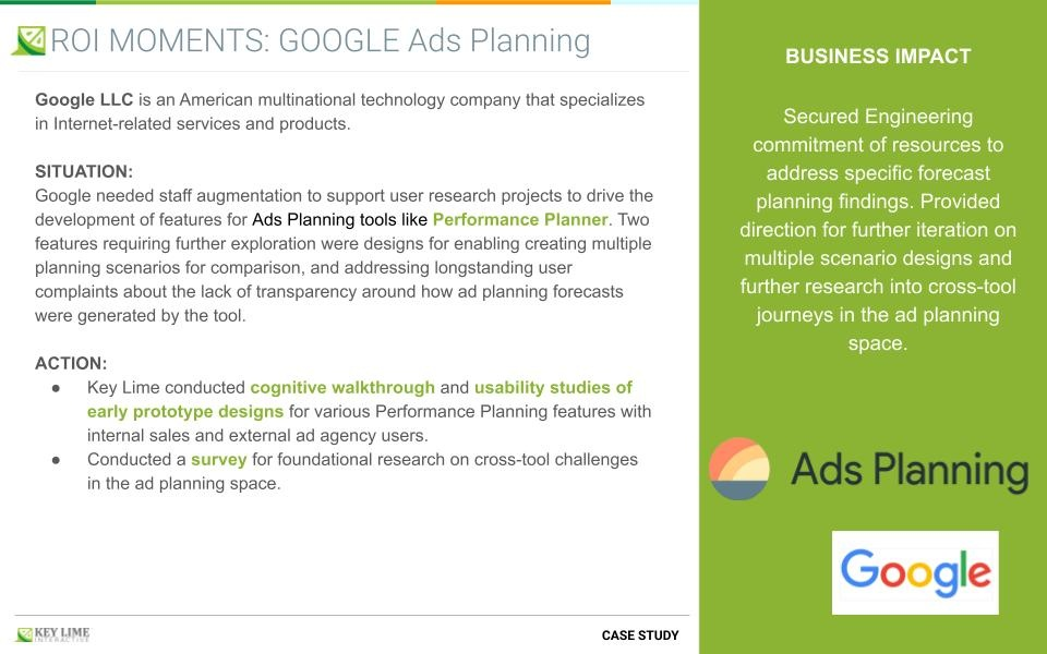 Google Ads - Foundational Research