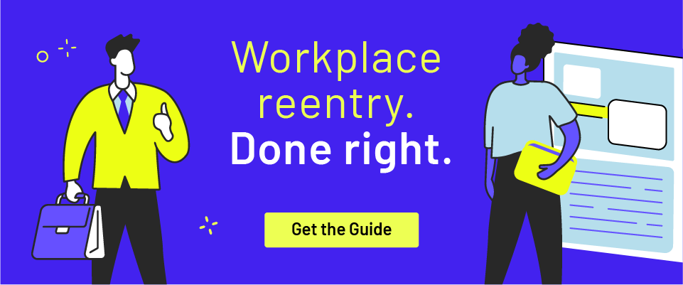 Download guide to workplace reentry