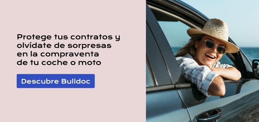 Protege tus contratos y olvídate de sorpresas en la compraventa de tu coche o moto