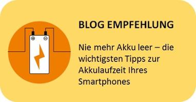 Tipp Handy Akku Laufzeit