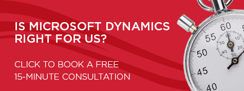 BOOK A FREE 15-MINUTE   Microsoft Dynamics 365 Consultation