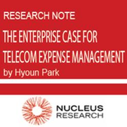 The Enterprise Case for Telecom Expense Management