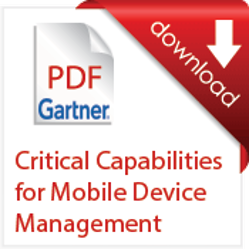 Critical Capabilities for Mobile Device Management