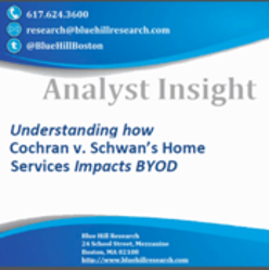 Understanding Cochran v. Schwan's Home Services Impacts BYOD