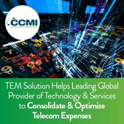 TEM Solution Helps Leading Global Provider of Technology & Services to Optimize TEM