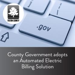 County Government adopts an Automated Electric Billing Solution