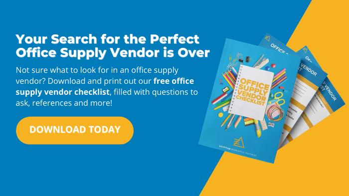 Office Supply Vendor Checklist