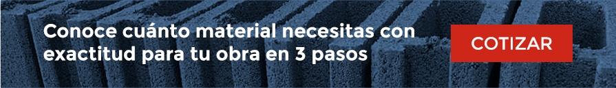 Conoce cuánto material necesitas con exactitud para tu obra en 3 pasos