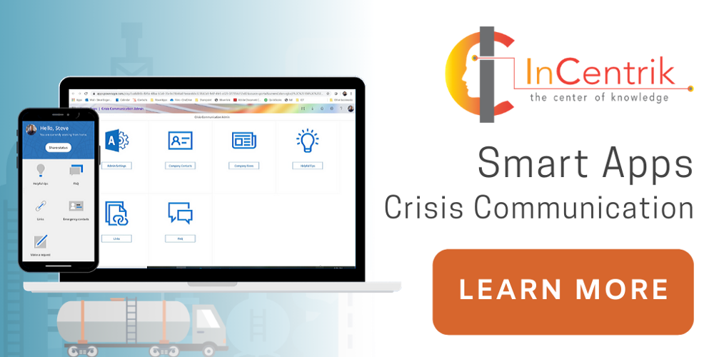 Crisis Communication App | Incentrik