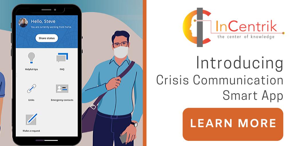 Introducing The Crisis Communication App | Incentrik