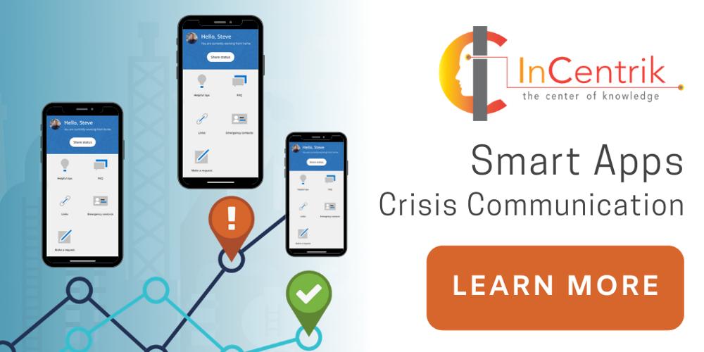 Crisis Communication App | Incentrik