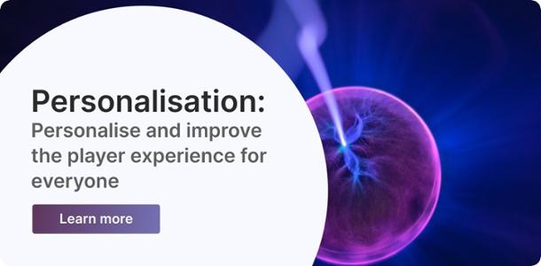 personalisation banner