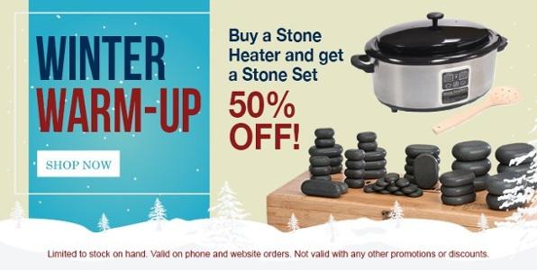 Stone heater and stones