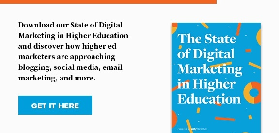 State of Digital Marketing in Higher Education