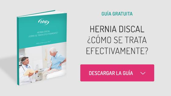 Tratar hernia discal efectivamente