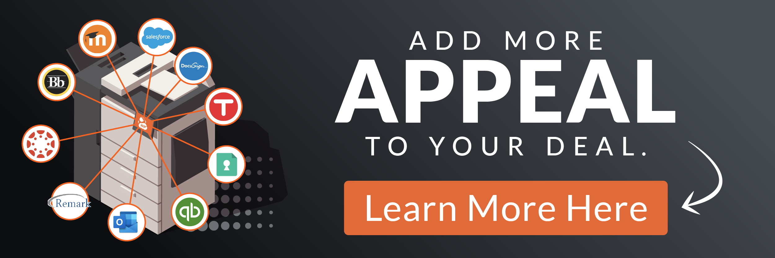 Add More Appeal To Your Deal, Click Here To Learn More