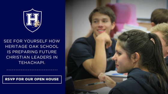 Heritage Oak School Open House