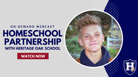 Homeschool Partnership with Heritage Oak School