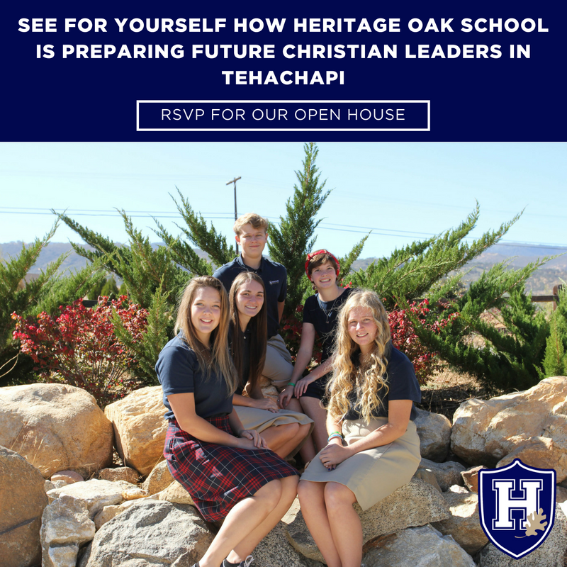 Heritage Oak School Open House