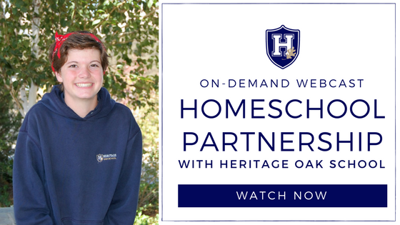Homeschool Partnership with Heritage Oak School